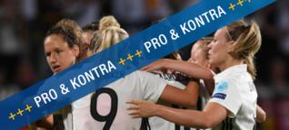 Sollte der Frauenfußball in den Medien eine größere Rolle spielen?