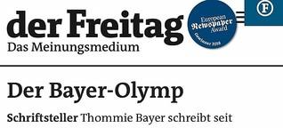 Schriftsteller - Der Bayer-Olymp