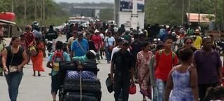 Venezolaner in Peru: Im Andenstaat dreht sich die Stimmung