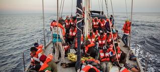 Interview mit Gerald Knaus zur Zukunft der Seenotrettung