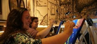 """Louisiana Bar wird bei """"Art Night"""" für drei Stunden zum Atelier"""