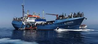 """""""Iuventa""""-Seenotrettern drohen bis zu 20 Jahre Haft"""