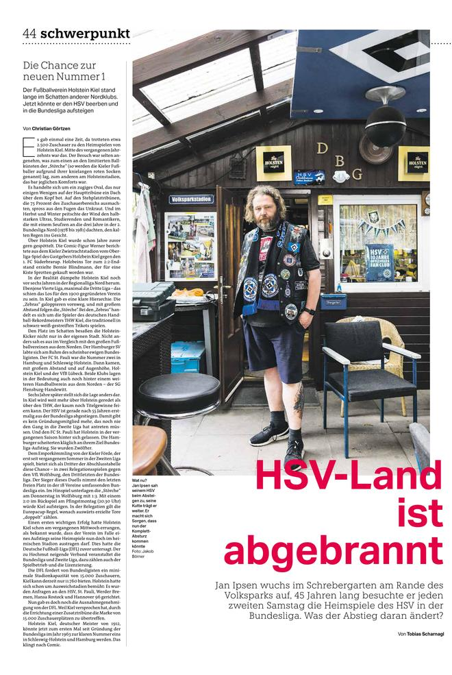 HSV-Land ist abgebrannt
