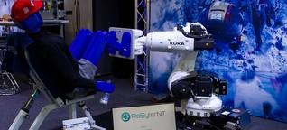 Sportwissenschaft - Interaktives Krafttraining mit dem Roboter