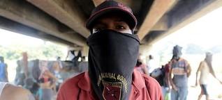 Durchhalten an Venezuelas Grenze