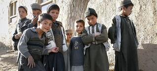 Afghanische Kinder: Ausreise ins Ungewisse