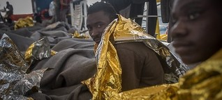 """Seawatch: """"Lieber Tod auf See als zurück nach Libyen"""""""