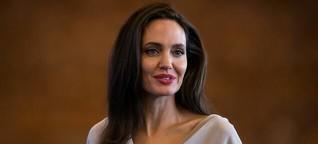 Angelina Jolie wirbt für Frauenrechte - und Schönheitsprodukte