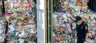 Stoppt den Müllexport!