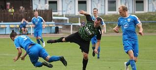 Fußball: FC Blau-Weiß Leipzig - Radebeuler BC 1:1 (1:0)