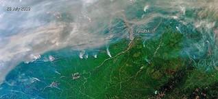 Brände in Sibirien und Alaska treiben den Klimawandel an