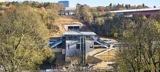 Pop und Mittelalter – Per Funicular ins Businessviertel von Luxemburg