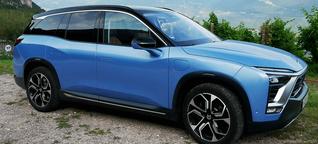 Nio ES8 Fahrbericht: Mit dem China-Stromer über die Alpen