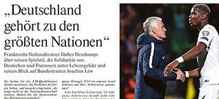 """Didier Deschamps: """"Deutschland gehört zu den grössten Nationen"""""""