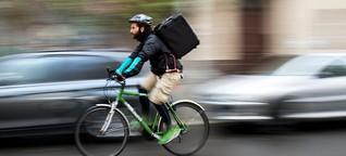 Deliveroo-Fahrer planen Lieferkollektiv: Selbst ist der Lieferant