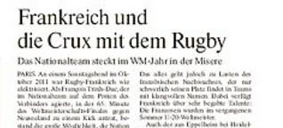 Frankreich und die Crux mit dem Rugby