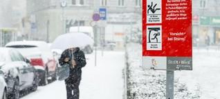 Kältewelle: Wie Wien friert