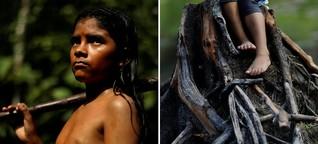 Seine Heimat brennt: Feuer am Amazonas