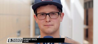 5 Fragen an Robert Rack von 1LIVE | MDR.DE
