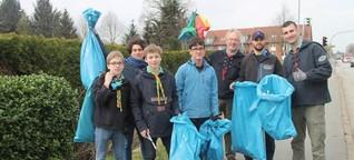 Aktion Saubere Gemeinde in Gettorf: Helfer finden vor allem Müll an den Hauptstraßen