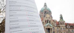 Geschlechtersensible Sprache kehrt in Bayerns Amtsstuben ein