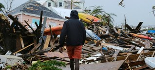 """""""Dorian"""" und die Bahamas - So ist es für die Menschen"""