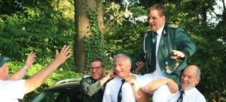 Ein Vollblut-Mitglied des Vereins: Neuer Schützenkönig in Berge, Weetfeld und Freiske