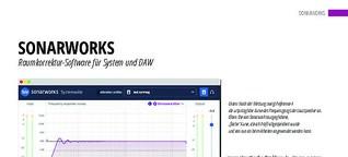 Sonarworks: Raumkorrektur-Software für System und DAW