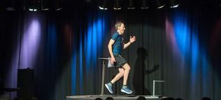 Bis keiner mehr lacht - Wie Dieter Baumann zum Kabarettisten wurde