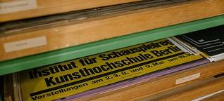 Typo-Poster von Karl-Heinz Drescher