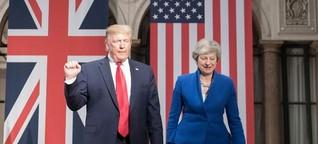 Donald Trump in Großbritannien - Eine Freundschaft muss auch Kotzbrocken aushalten