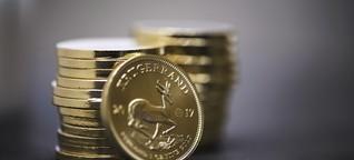 Gold als Geldanlage: Notgroschen Goldmünze
