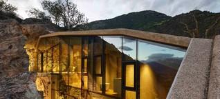Messner-Felsenhaus in Südtirol: (K)eine hohle Idee