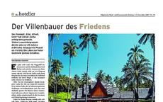 """Serie Hotelklassiker: Aman Resorts  Das Konzept """"Edel, stilvoll, klein"""" hat Adrian Zecha erfolgreich gemacht. Vielen Luxushotels diente sein vor 20 Jahren eröffnetes Amanpuri in Phuket als Vorbild."""
