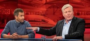 """""""Hart aber fair"""" zur Bahn: """"Seit Jahrzehnten auf Verschleiß gefahren"""""""