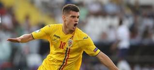 Rumäniens U21-Spielmacher Ianis Hagi: Fast wie der Papa