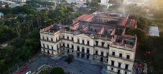 Feuer im Nationalmuseum in Rio: Als ganz Brasilien brannte