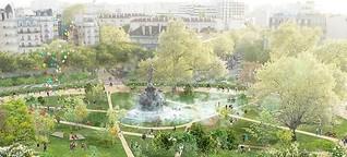 Paris macht grün und rüstet sich für den Klimawandel