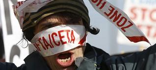 Europa-Parlament gibt Ceta frei: Protest blieb vor der Tür