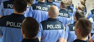 Polizei in Sachsen: Bewaffnete Charmeoffensive