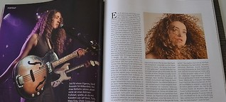 Tal Wilkenfeld in bassquarterly