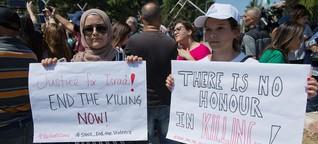 """Femizide in Palästina: """"Das Schweigen ist vorbei"""""""