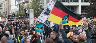 Liveblog: Demonstrationen enden mit mehreren Festnahmen