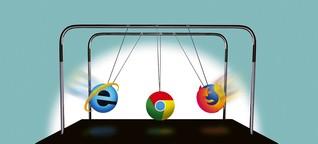 Chrome vs. Mozilla: Browser-Krieg ums freie Netz