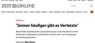 Psychiatrien am Limit