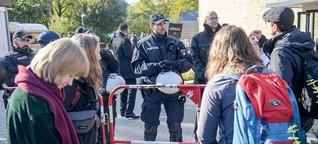 Bernd Lucke kann Vorlesung halten – unter massivem Polizeischutz