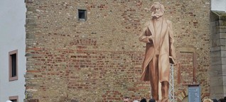 """Marx-Denkmal: """"Nicht ganz unproblematisch"""""""