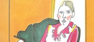 Joni Mitchells Zeichnungen