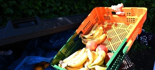 Essen aus dem Müll geholt: Verurteilte Studentinnen demonstrieren vor Bundesverfassungsgericht