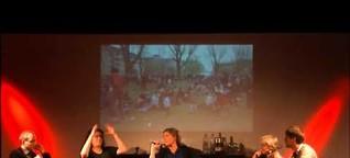 """Podiumsdiskussion: """"Krise ohne Teilnehmer - Protest auf Sparflamme?"""""""